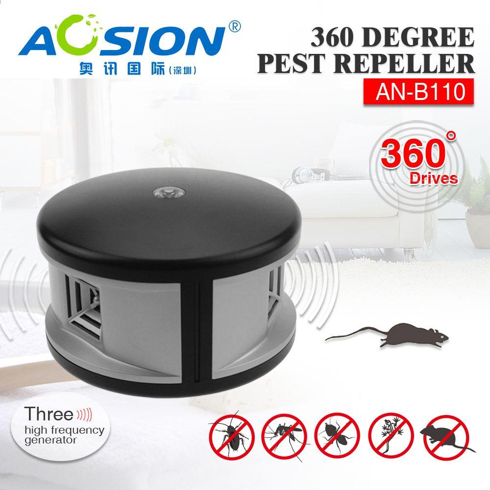 Ücretsiz kargo Aosion ultrasonik fare sıçan kovucu ev