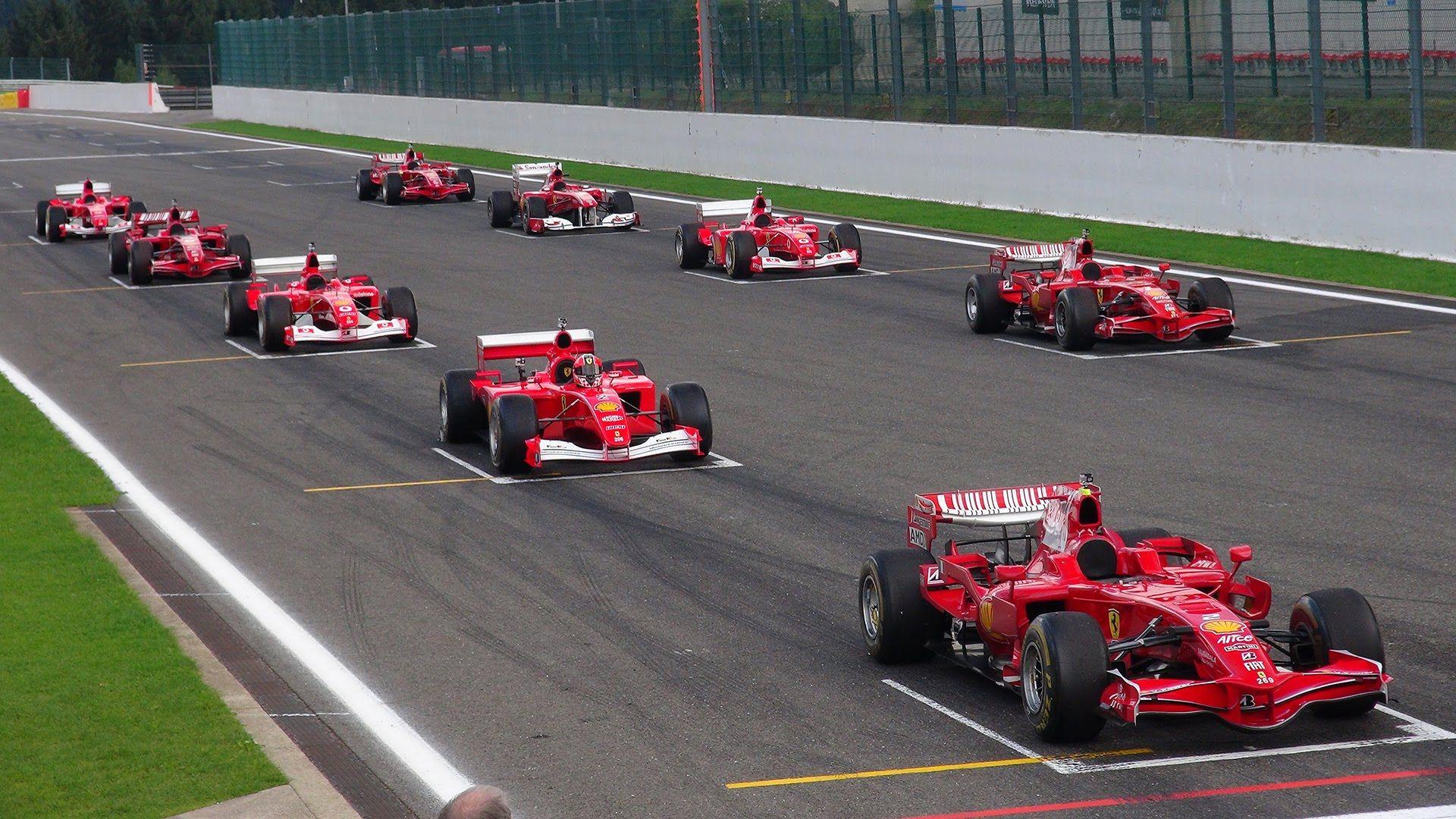 Ferrari Formula 1 Corse Clienti   EPIC Line Up! V8/V10/V12