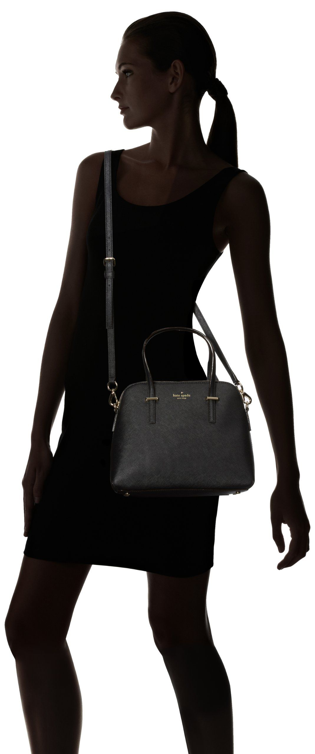 kate spade new york Maise PXRU4470 Tote Handbag,Black,One Size