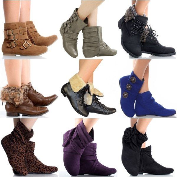 1000  images about Flat Ankle Boots on Pinterest | Flats Lace up