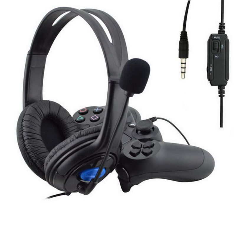 Rgb Gaming Headset Stereo Surround Headphone 3 5mm Wired Mic For Ps4 Xbox Laptop Ebay Headset Gaming Headset Headphone