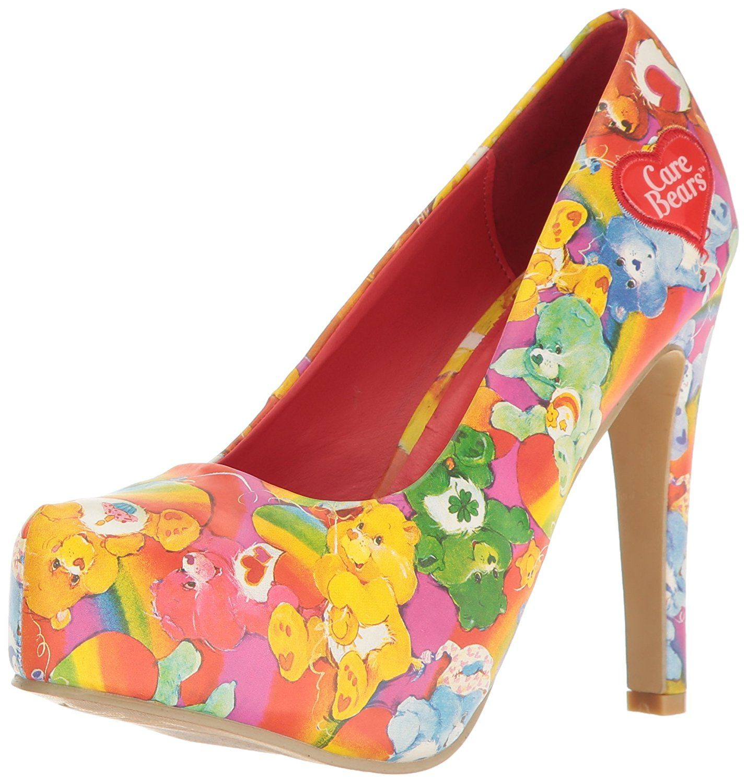 299f6ab0f1e4a Iron Fist Women's Lots a Rainbows Platform Heels   shoes   Platform ...