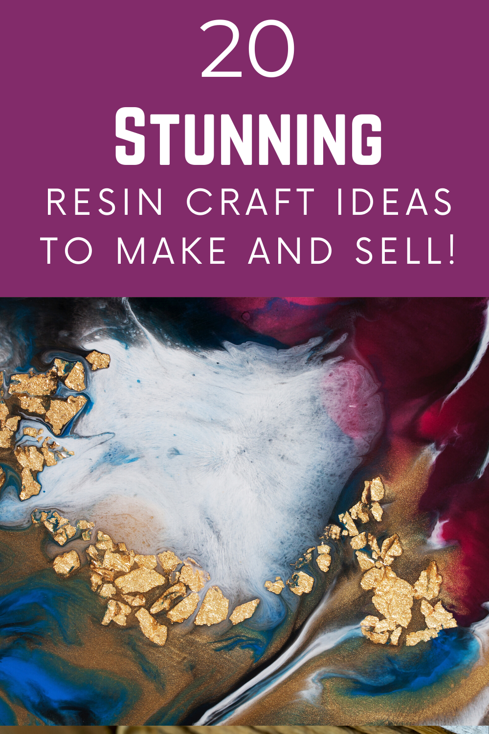 List of 20 Perfect Resin Craft Ideas To Make And S