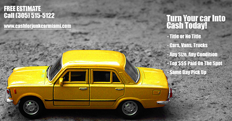 Cash For Junk Cars Online Quote Turn You Car Into Cash Today Call 305 5155122 Or Get Online .