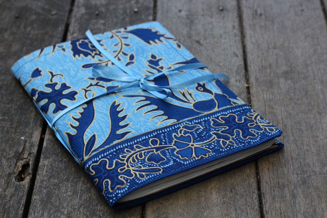 Fabric Composition Book Cover Tutorial ~ Fabric journal cover tutorial i want to sew