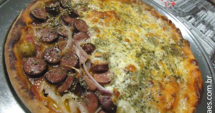 Pizza Caseira, Receita