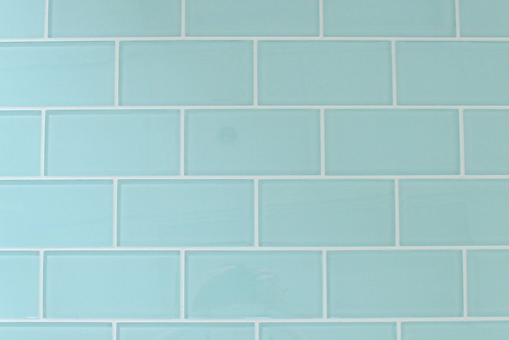Brand New To Our Collection Is Seafoam 3x6 Gl Subway Tile A Very Soft