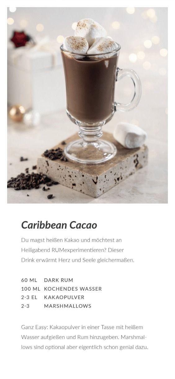 Caribbean Cacao � Dein winterliches Drink-Rezept mit Rum