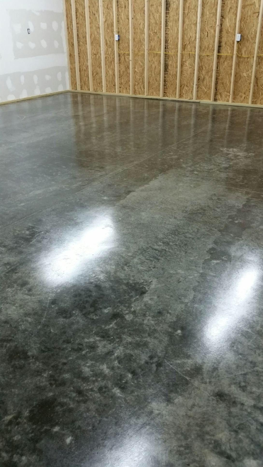 TLPPC concrete sealer. No prep and applies with a garden sprayer ...