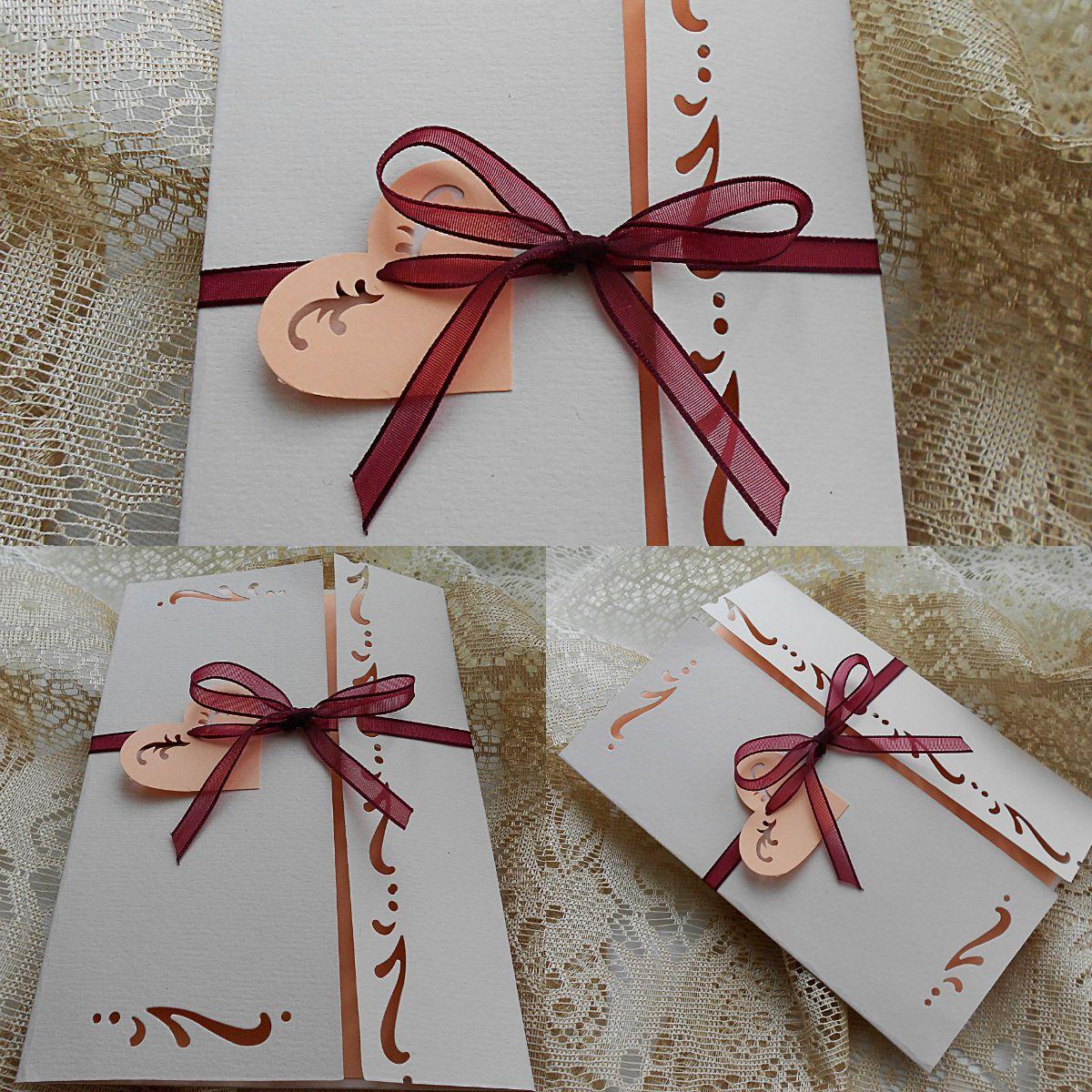 Pin By Cristina Onet On Handmade Wedding Invitations By Cristina Handmade Wedding Invitations Gift Wrapping Handmade Wedding