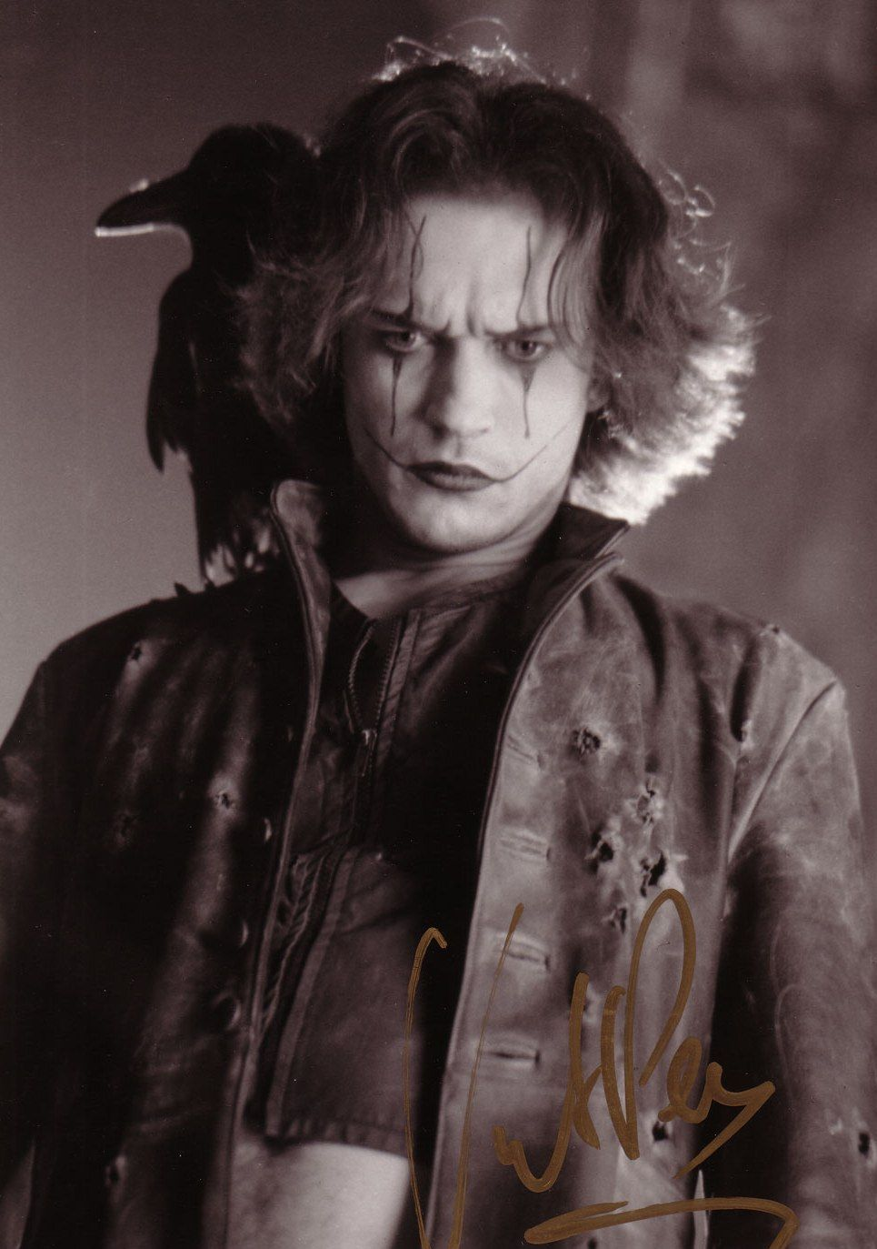 "Vincent Perez in ""The Crow, City of Angels."""