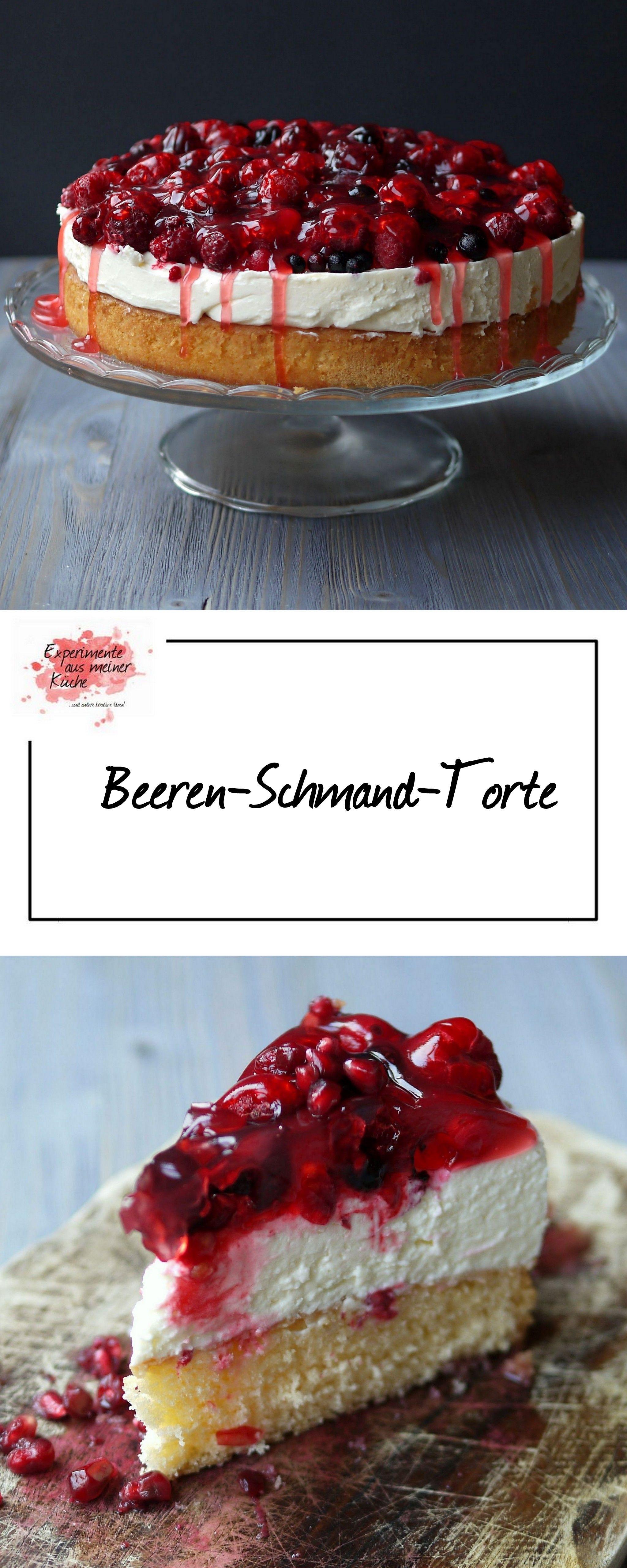 Beerentorte mit Schmand | Experimente aus meiner küche, Schmand und ...