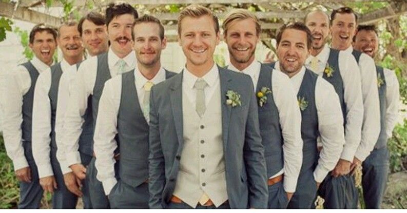 Best men in waistcoats for summer wedding | MCB beautiful ...