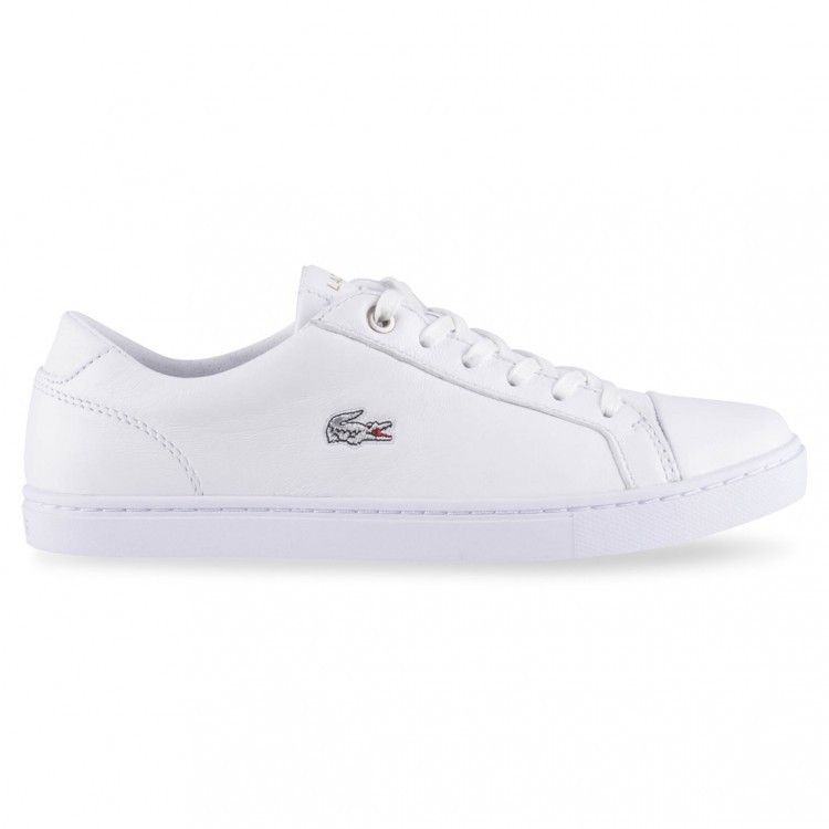 82b5f1baf Lacoste - Showcourt Racquet Leather Sneaker - White