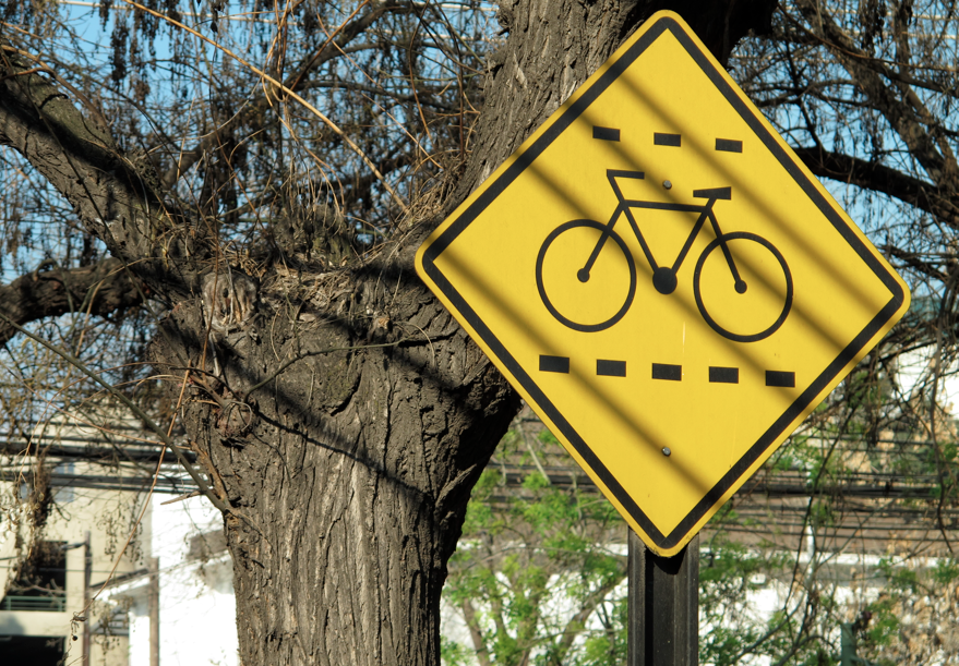 Zona de Bicicletas.