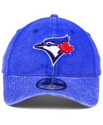 buy online f5fd0 321b6 New Era Toronto Blue Jays Italian Washed 9TWENTY Cap - Gray Adjustable