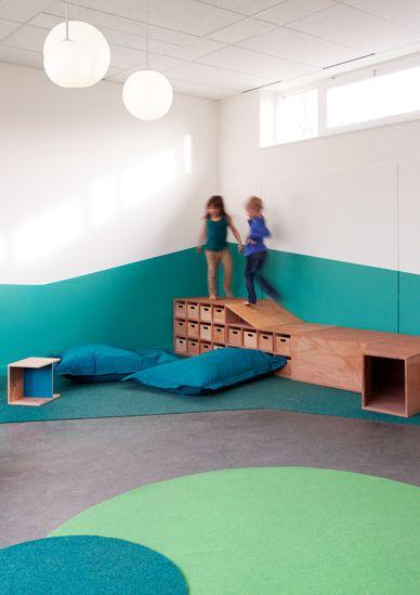 Kita sinneswandel nach dem umbau early learning for Raumgestaltung schule