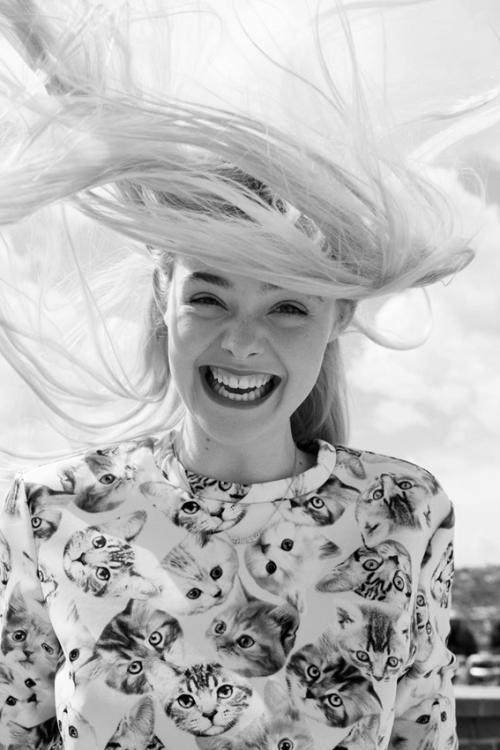Elle Fanning for Asos Magazine, July 2014.