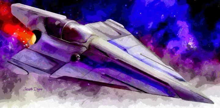 Delta-12 Skysprite (Free Style) - Leonardo Digenio - Paintings & Prints Still Life Other…   ArtPal thumbnail