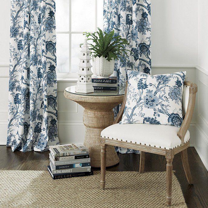 Jacobean Floral Pillow | Luxury living room design, Living ...