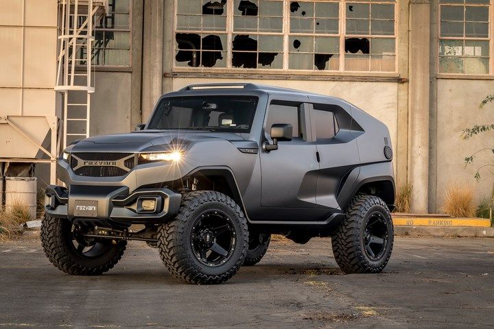 Rezvani S Tank Suv Comes With Survival Options Used In Military