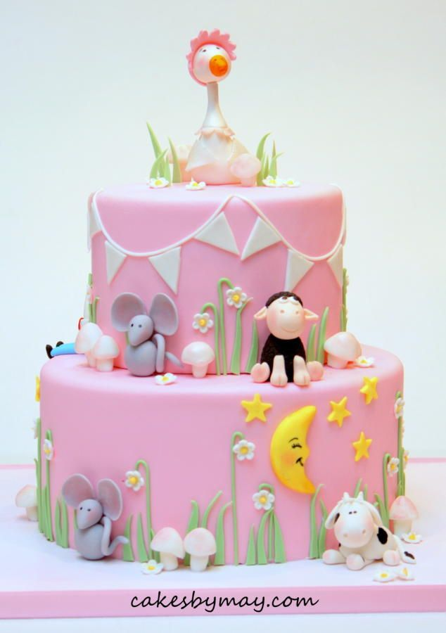 Nursery Rhymes Baby Shower Cake