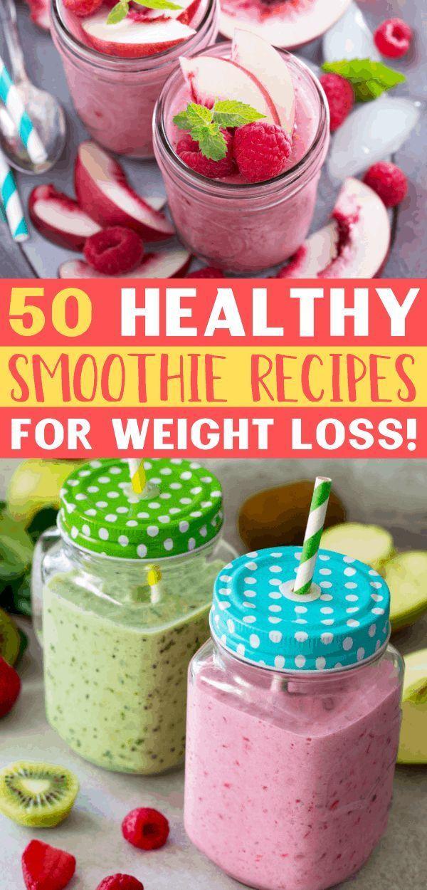 50 gesunde Smoothie-Rezepte zur Gewichtsreduktion (Easy Smoothies !!) – New Ideas