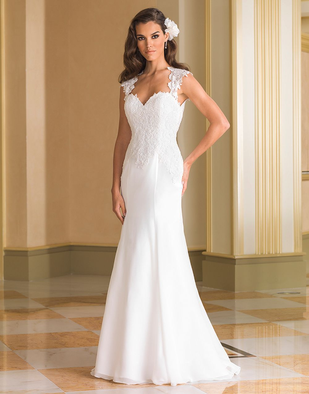Justin Alexander wedding dresses style 8867 | Lace applique, Wedding ...