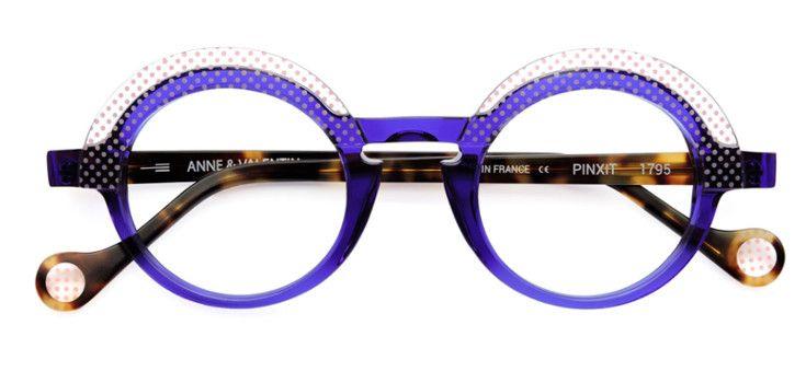 760c73a8369b47 Monture optique originales lunetier français Anne et Valentin modèle Pinxit