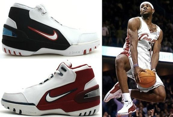 Nike LeBron Air Zoom Generation 1 I LeBron James Shoe - from the Complete  Visual History of the Nike  LeBronJames  BasketballShoes Line 5c44c0cfbeed