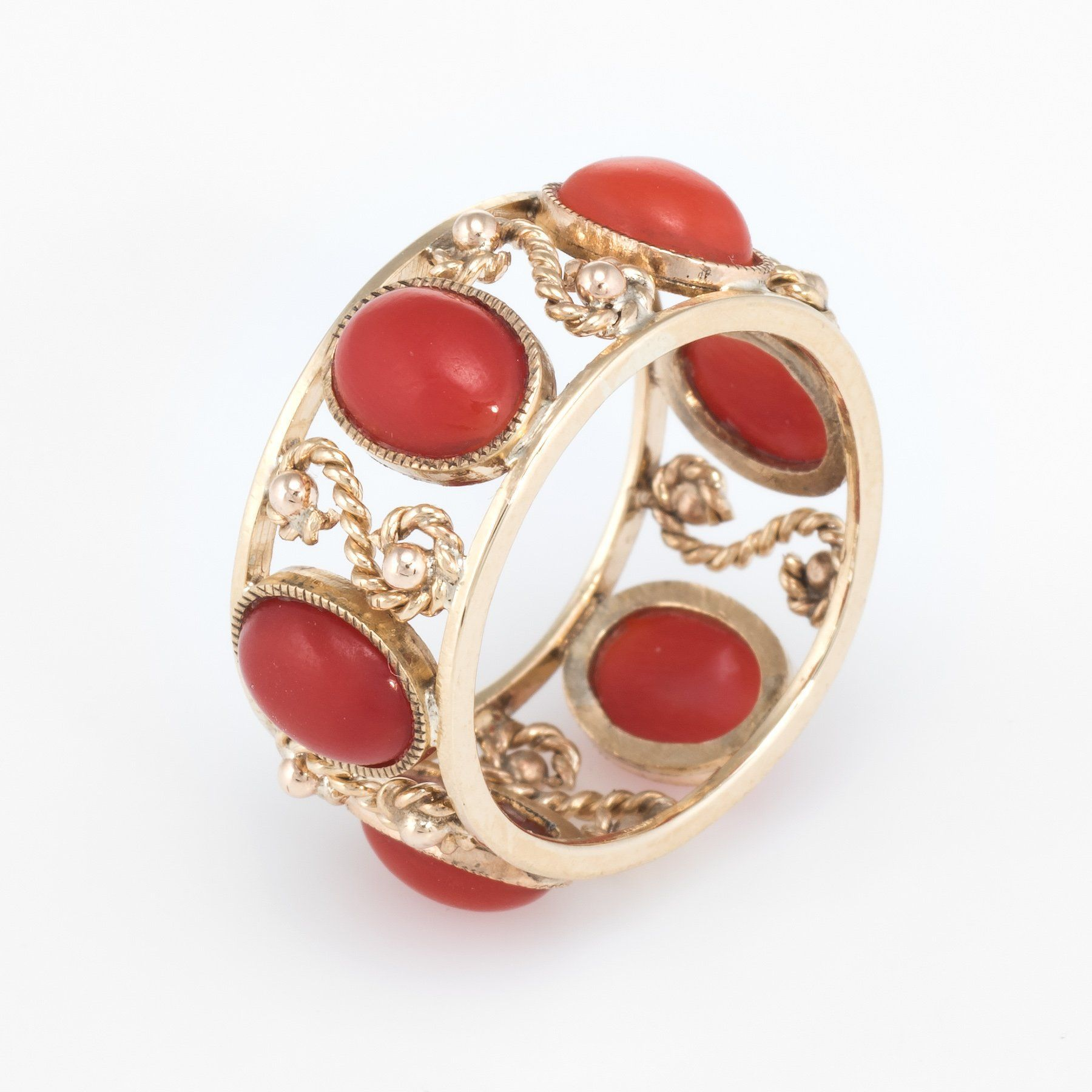 79b2f2f2b ... Sophie Jane Jewelry. Overview: Elegant vintage eternity ring (circa  1960s to 1970s), crafted in 14