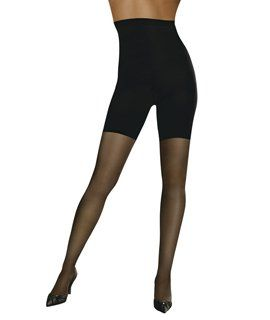 L'eggs Profiles Firm Control Waist Smoother Toner Energizing Hosiery, Nude, Medium