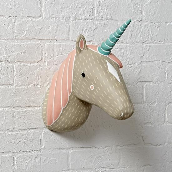 Shop For Faux Animal Heads At The Land Of Nod Explore A Variety Paper Mache