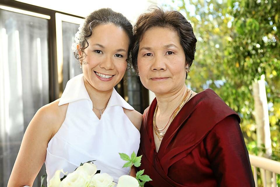 Hair and makeup bride & mother of bride
