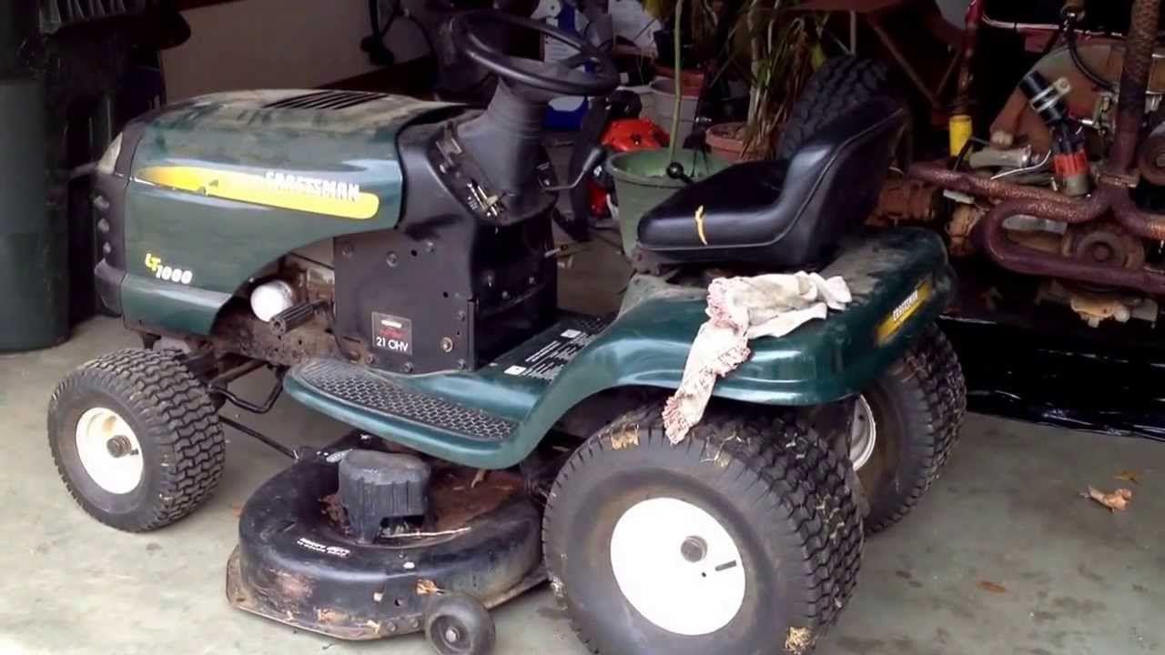 Craftsman Riding Mower Deck Belt Change Craftsman Riding Lawn