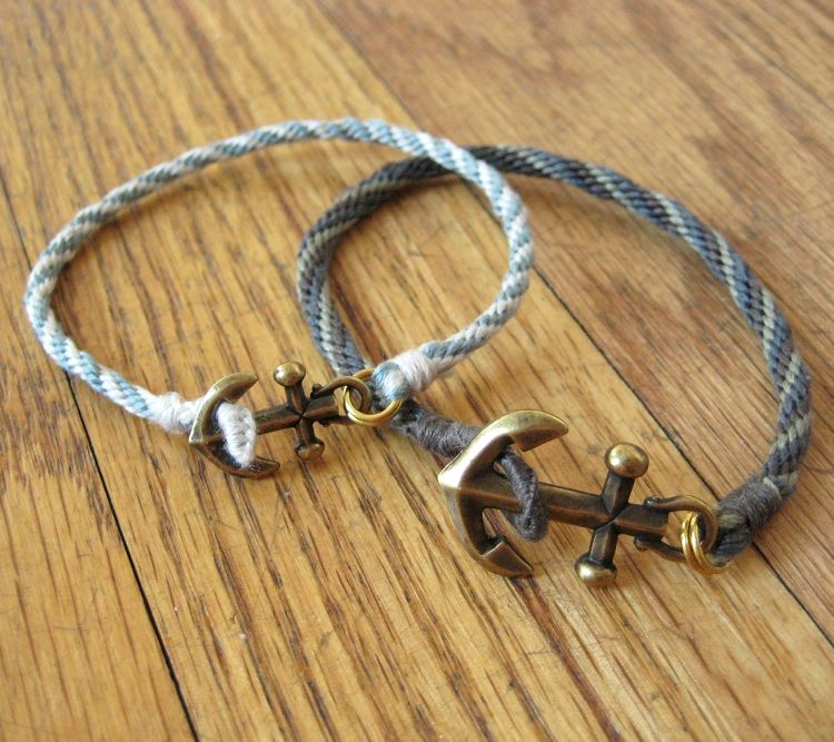 Anchor and Braid Bracelet - Luxe DIY - How Did You Make This?