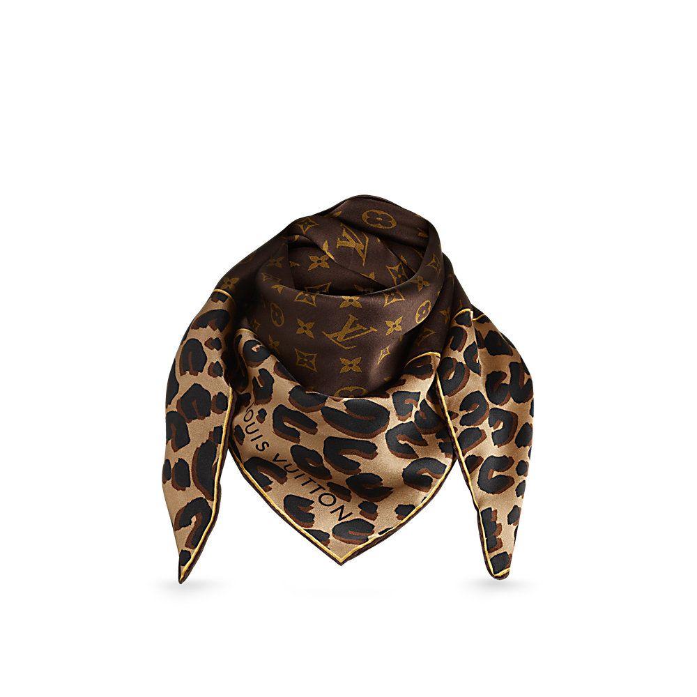 louis vuitton chale monogram reverse dots denim echarpes et foulards MP1854  PM2 Front view 5cbbcc635eb
