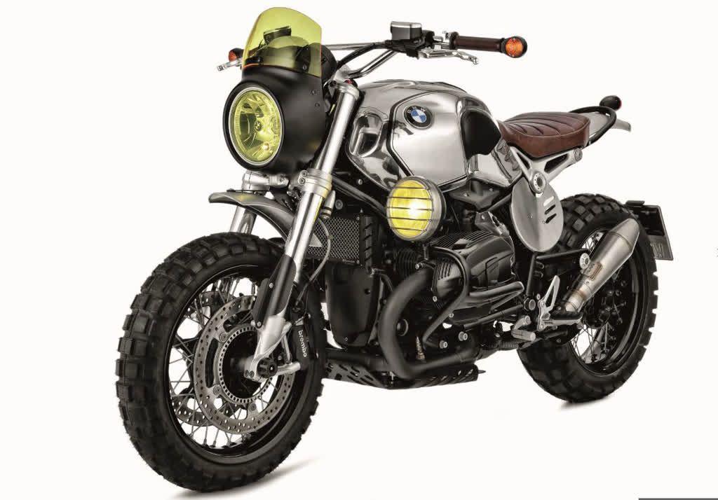 Bmw R Ninet Scrambler Umbau Six Days Wunderlich Bmw Bmw Bmw Motorrad