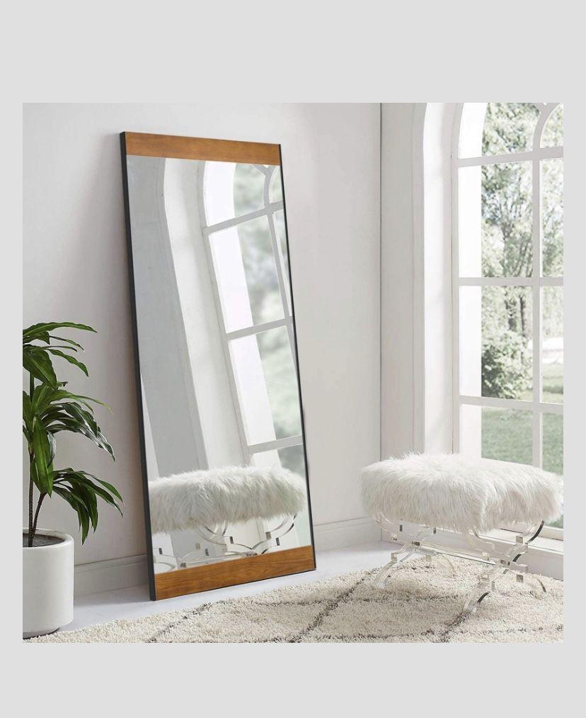 Floor Mirror Contemporary Scandinavian Modern Design In 2020 Full Length Floor Mirror Big Mirror In Bedroom Floor Mirror