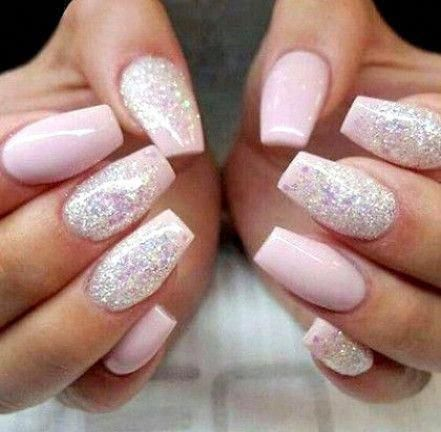500 fashion full cover false nails natural white clear