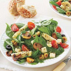 Artichoke and Mushroom Salad | Healthy Salads | AllYou.com Mobile