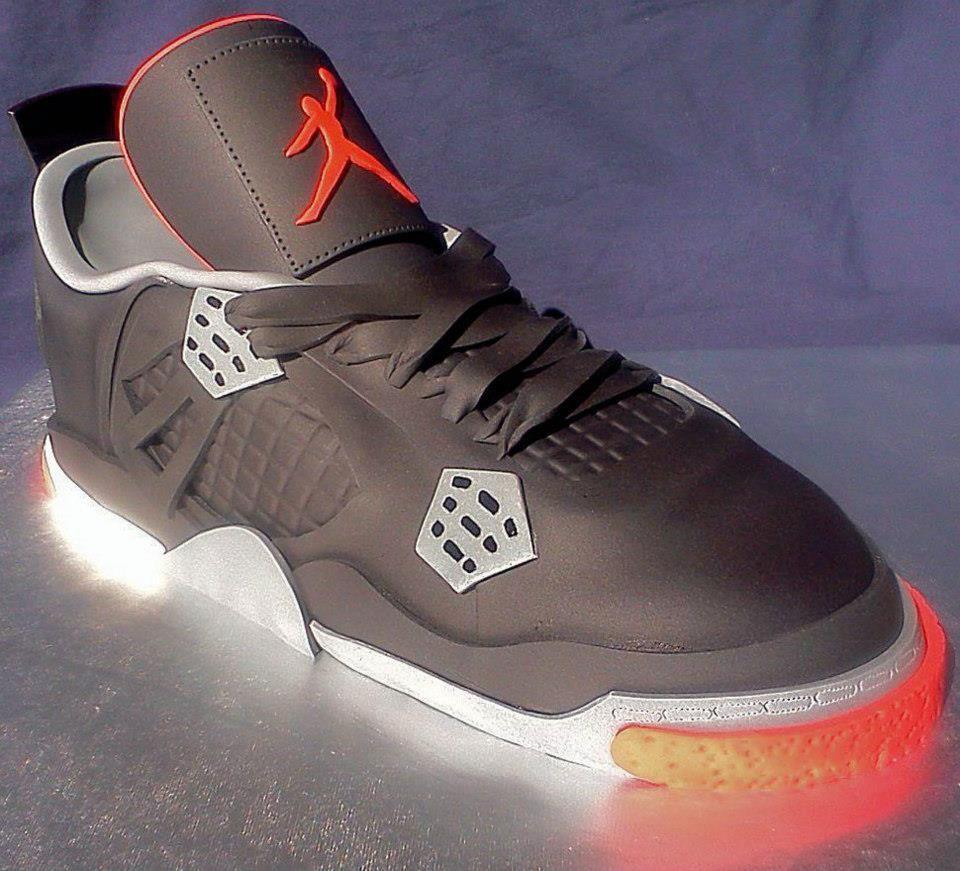 Michael Jordan Nike Shoe Cake