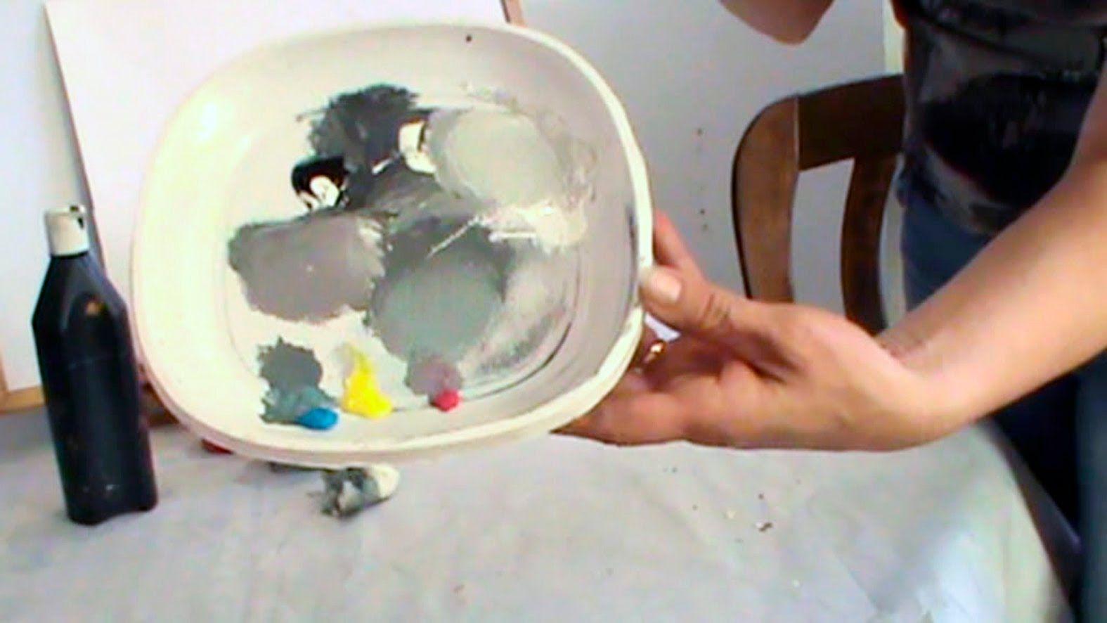 Como Hacer Color Gris Gris Azulado Gris Perla Hacer Colores Lecciones De Arte Crear Colores