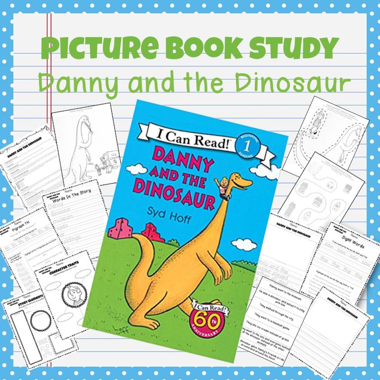Book Study Danny And The Dinosaur Book Study Book Activities