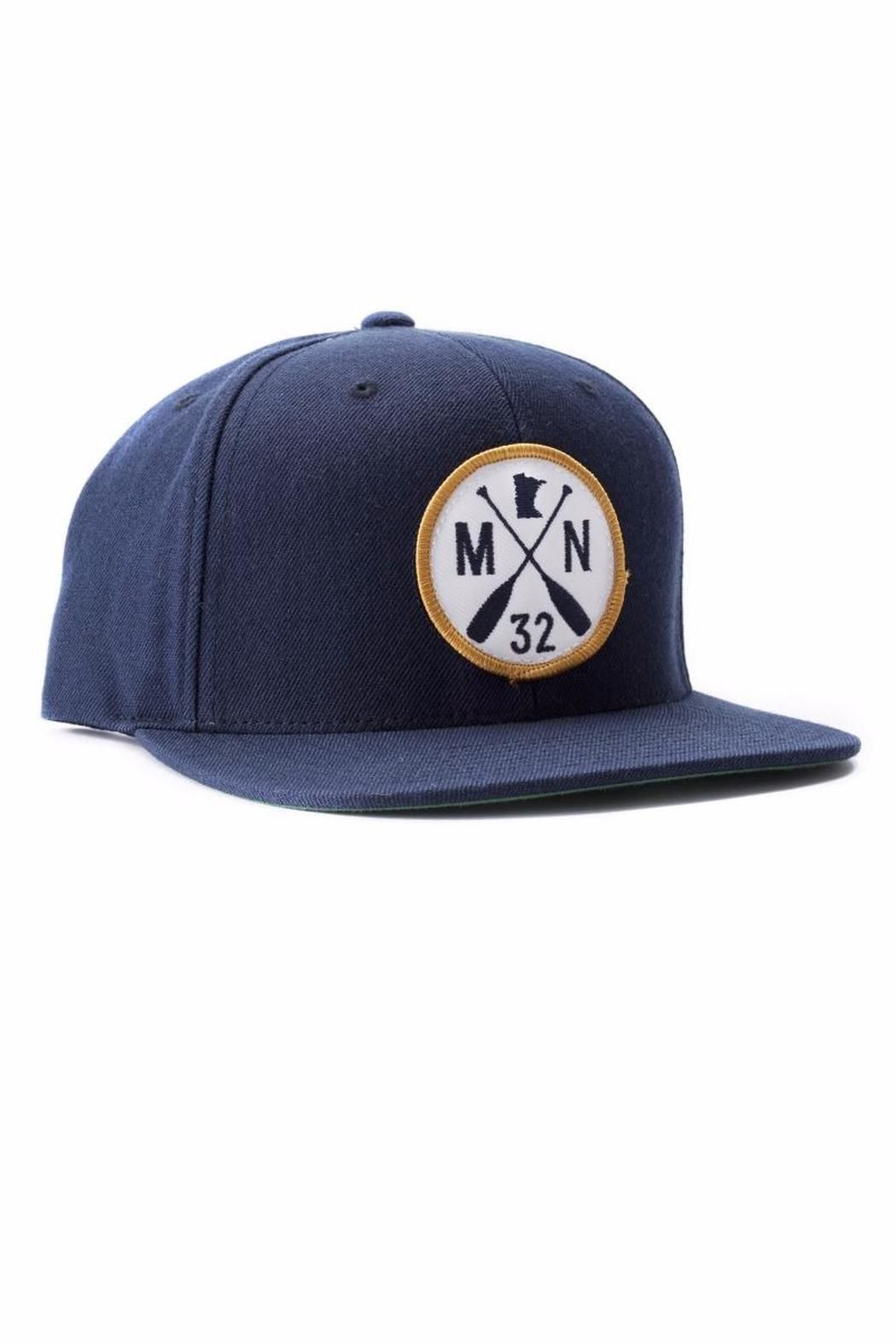 Adjustable baseball cap with Minnesota 32 Paddle logo.   The Paige Cap by Sota Clothing Co.. Accessories - Hats Minneapolis, Minnesota