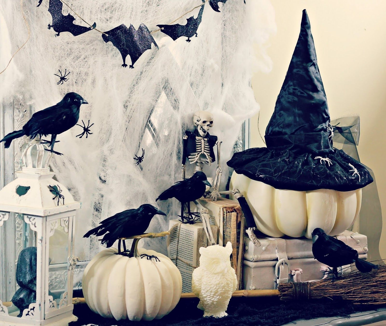 My Year In Review Halloween Halloween mantel