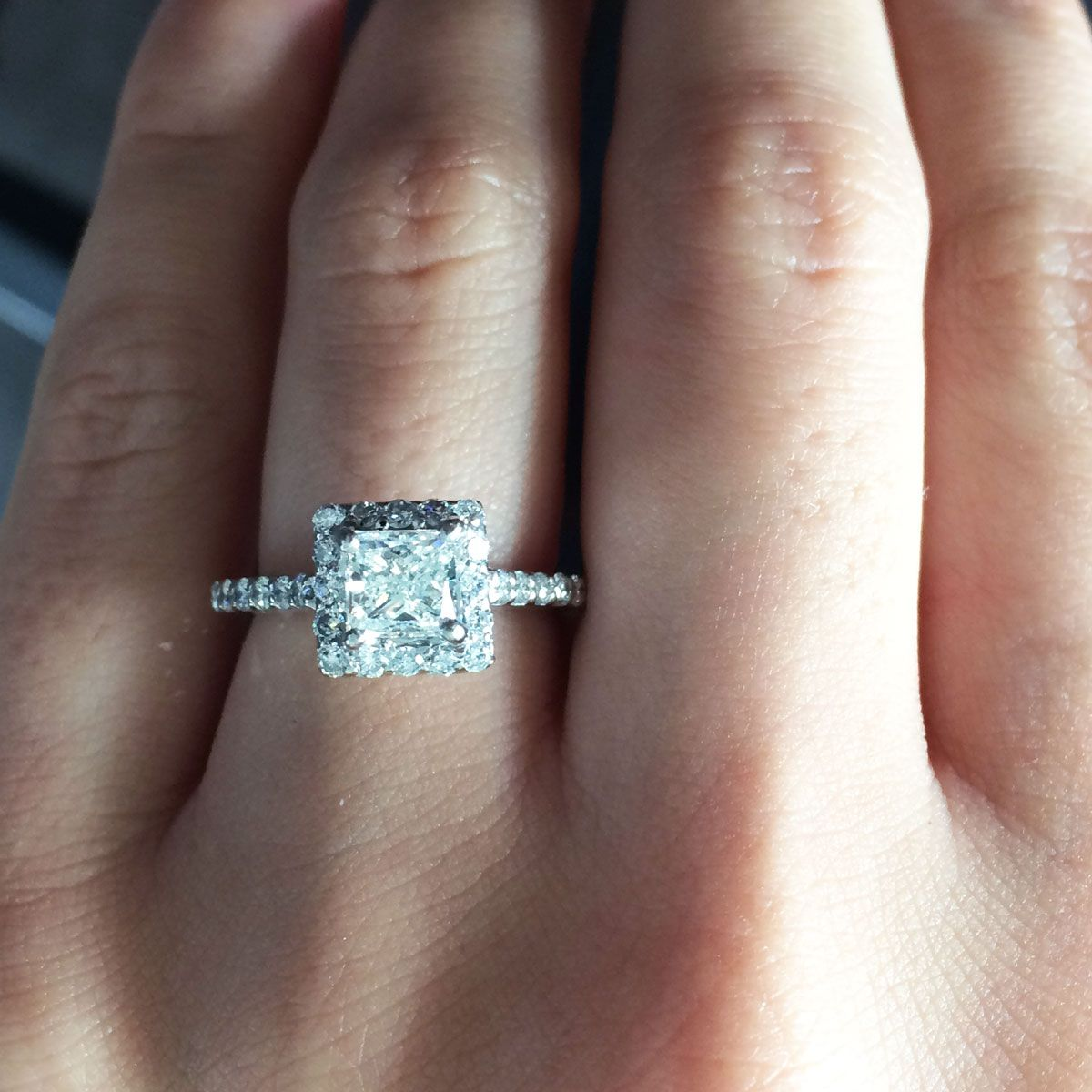 $10000 Engagement Ring And Under Eye Candy