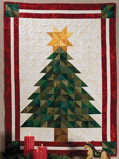 Oh Christmas Tree Wall Hanging Pattern Christmas Wall Hangings Christmas Tree Quilt Pattern Christmas Quilts