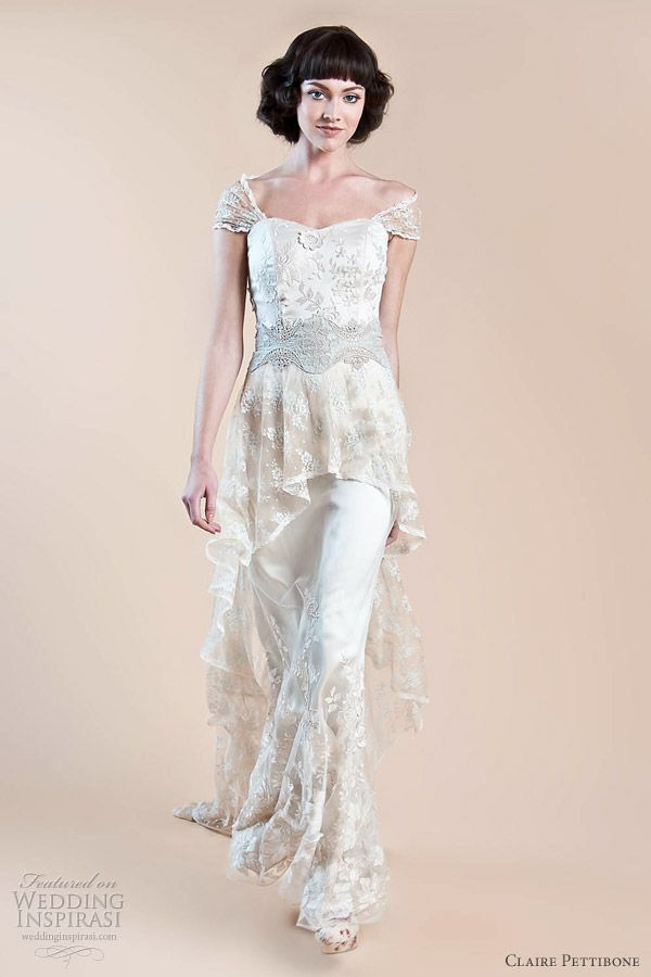 Claire Pettibone  Wedding dresses fall 2012 hazel