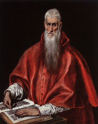 Saint Jerome as a cardinal, by El Greco